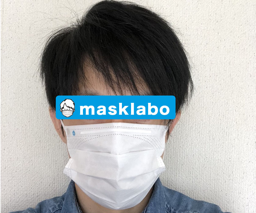 花粉を水に変えるマスクを着用して見た